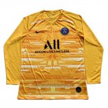 Camiseta Paris Saint-Germain Portero Manga Larga 2019 2020 Amarillo