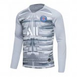 Camiseta Paris Saint-Germain Portero Manga Larga 2019 2020 Gris