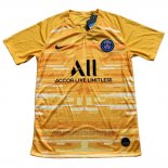 Camiseta Paris Saint-Germain Portero 2019 2020 Amarillo