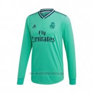 Camiseta Real Madrid Tercera Manga Larga 2019 2020