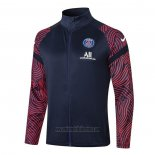 Chaqueta del Paris Saint-Germain 2020 2021 Azul
