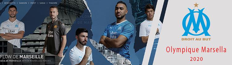 Camisetas del Olympique Marsella baratas
