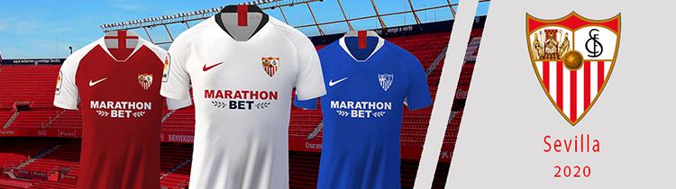 Camisetas del Sevilla baratas
